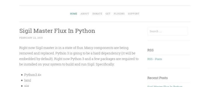 Sigil, un editor per scrivere il proprio eBook