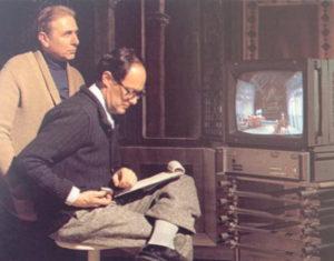Eugenio Guglieminetti e Ugo Gregoretti