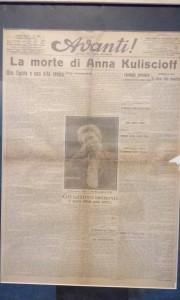 Anna Kuiscioff, La morte